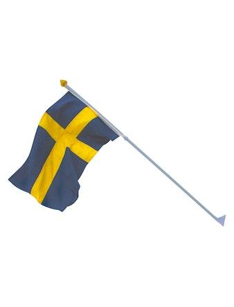 Fasadflagga Flagmore Sverige 130cm 78002