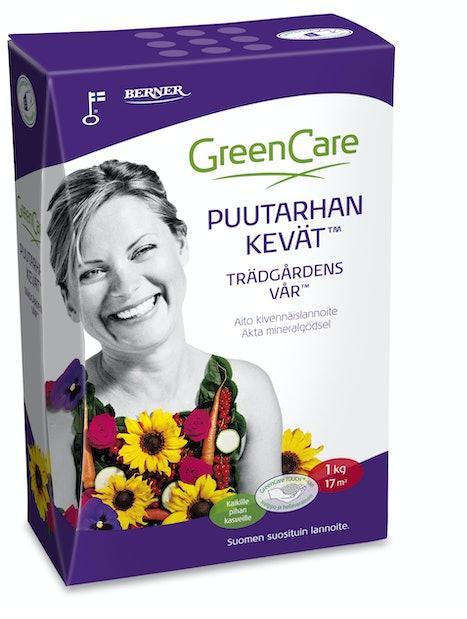 PUUTARHAN KEVÄT GREENCARE 1KG