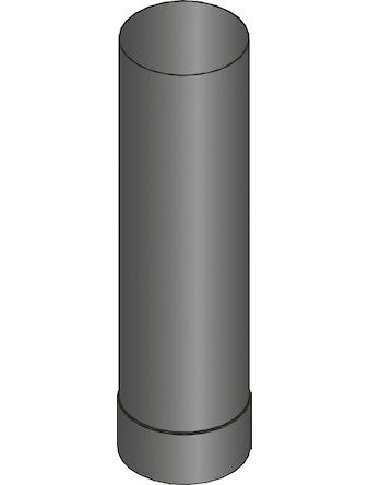 Rökrör Harvia 0,5m Grå 115mm WZ050M