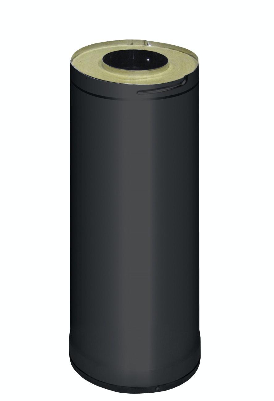 Skorstensförlängning Harvia WHP500M 0,5m Svart
