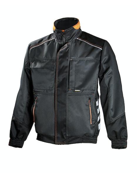TAKKI DIMEX 668 HARMAA/MUSTA/ORANSSI KOKO XL