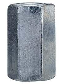 JATKOMUTTERI M8 ZN 100KPL 1,07 KG