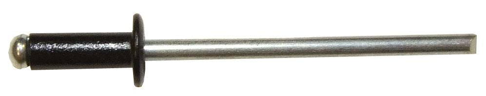 Nitar Rapid 3,2X8 Svart Aluminium 100-Pack