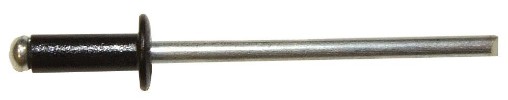 Nitar Rapid 3,2X10mm Svart Aluminium 100-Pack