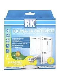IKKUNA- JA OVITIIVISTE P RK VALKOINEN 6M