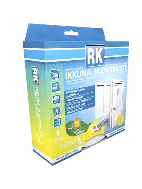 IKKUNA- JA OVITIIVISTE P RK VALKOINEN 25M