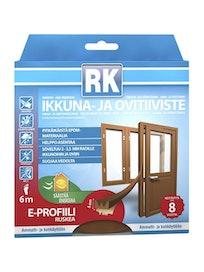 IKKUNA-JA OVITIIVISTE E RK RUSKEA 6M