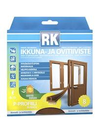 IKKUNA-JA OVITIIVISTE P RK RUSKEA 6M