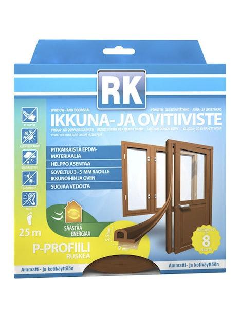 IKKUNA-JA OVITIIVISTE P RK RUSKEA 25M