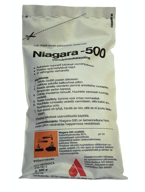 VIEMÄRINAVAUSAINE NIAGARA 0,5KG