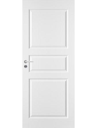 Полотно Jeld-Wen 1, 3-филенчатое белое, 800 х 2100 мм