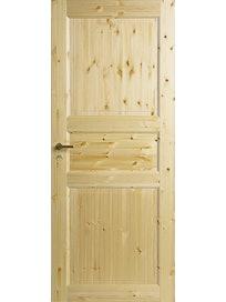Полотно дверное 3-филенчатое Jeld-Wen 51, сосна, 800 х 2100 мм