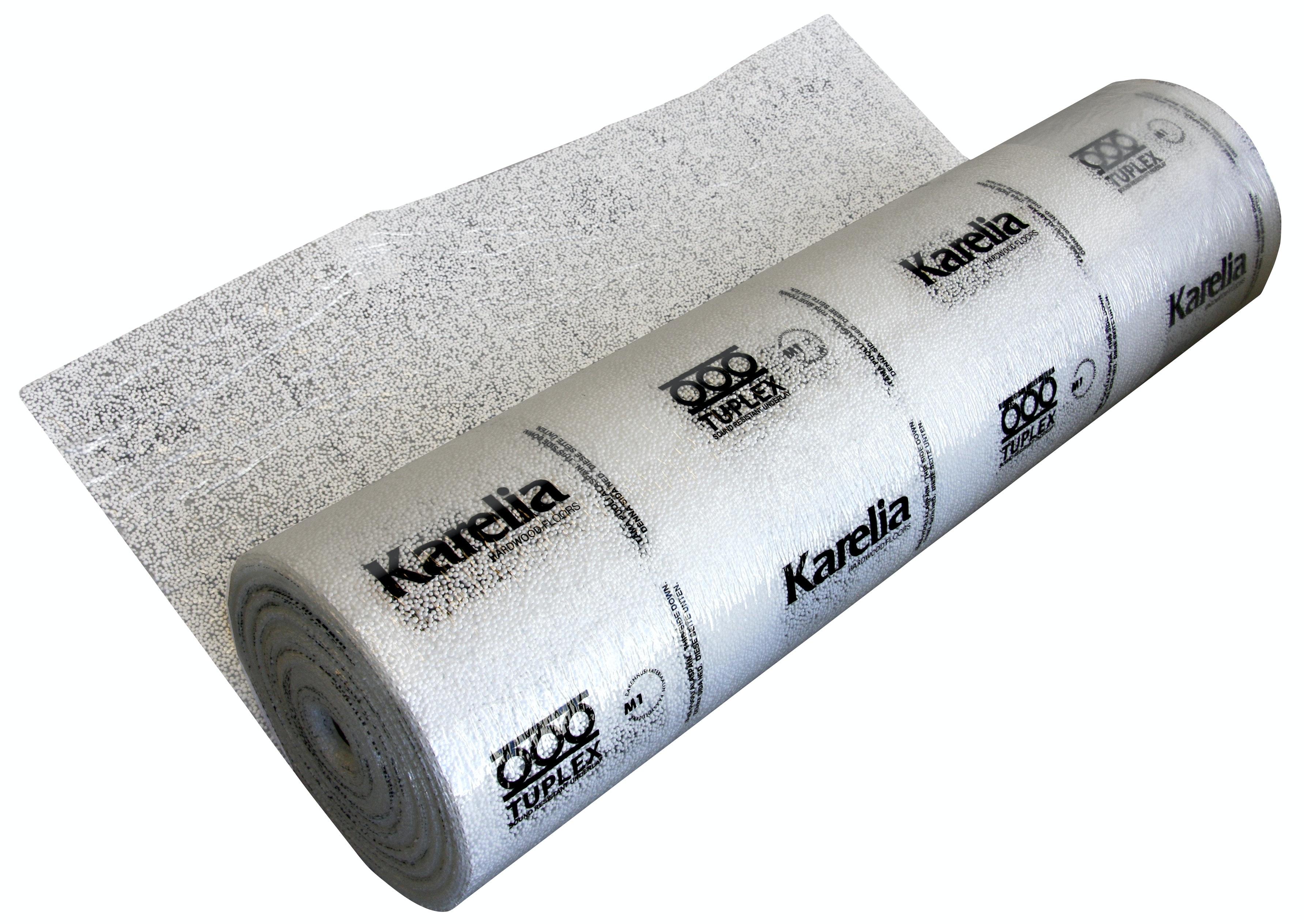 Underlagsfoam Karelia Tuplex 3mm 1,1x30m 33m² Med Ångspärr