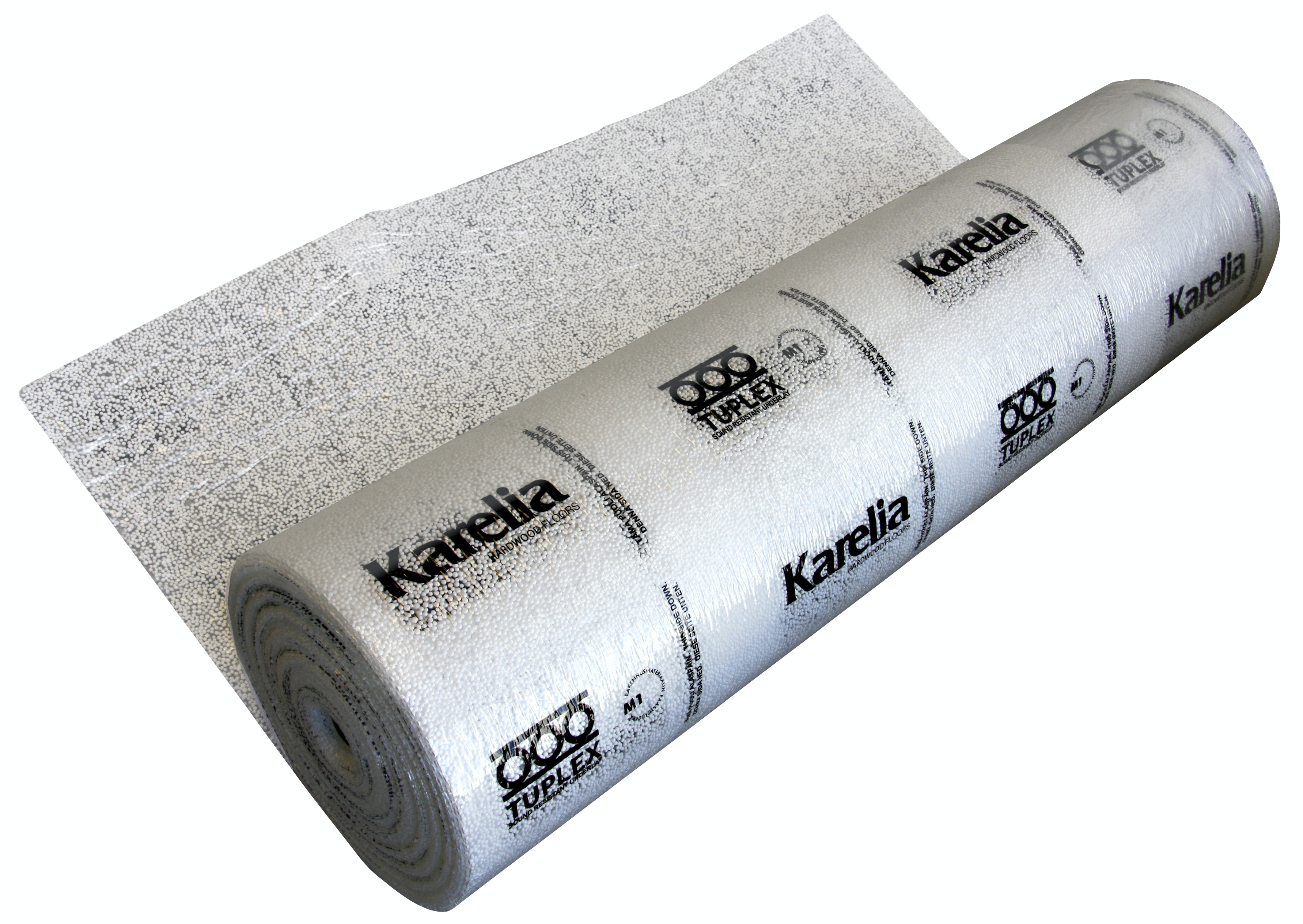 Underlagsfoam Karelia Tuplex 3mm 1,1x15m 16,5m² Med Ångspärr