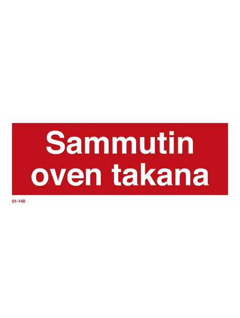 KILPI SAMMUTIN OVEN TAKANA 200X80MM JÄLKIVALAISEVA MUOVI