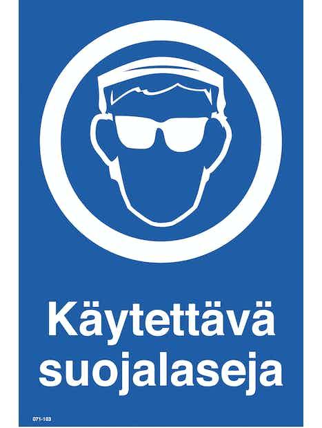 KILPI KÄYTETTÄVÄ SUOJALASEJA 200X300MM MUOVI