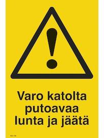 KILPI VARO KATOLTA PUTOAVAA LUNTA JA JÄÄTÄ 200X300MM