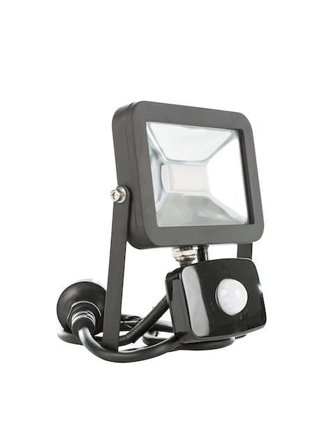 LED-VALONHEITIN C-SPOT PIR 10W MUSTA 800LM 4500K IP43