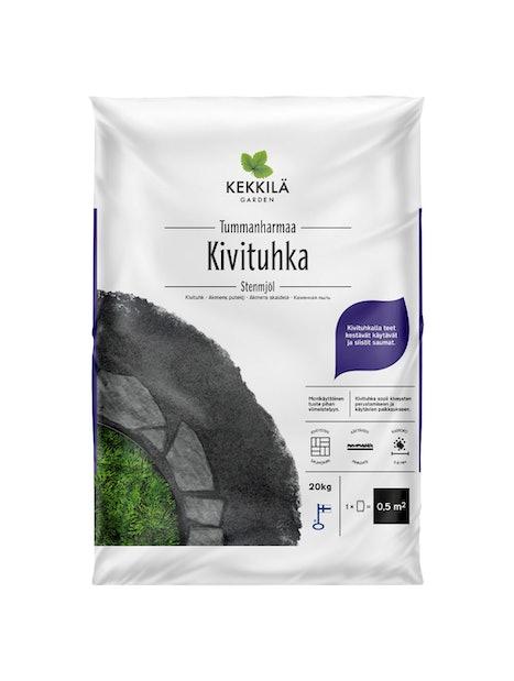 KIVITUHKA KEKKILÄ TUMMANHARMAA 20KG