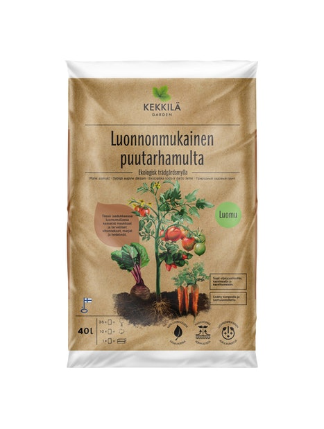 PUUTARHAMULTA KEKKILÄ LUONNONMUKAINEN 40L