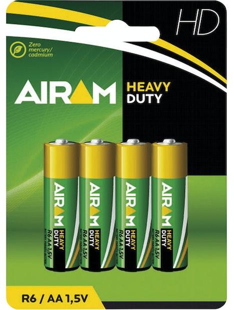PARISTO AIRAM HEAVY DUTY AA R6 4KPL