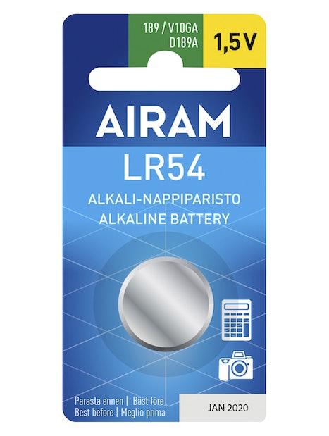 PARISTO AIRAM LR54/89A/1,5V