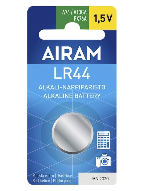 NAPPIPARISTO AIRAM LR44/A76/1,5V