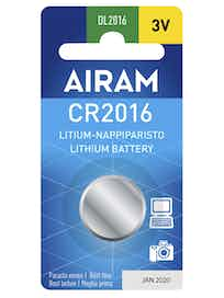 PARISTO AIRAM CR2016/3V