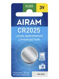 PARISTO AIRAM CR2025/3V