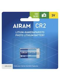 PARISTO AIRAM CR2 LITIUM 3V 850MAH