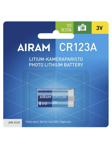 PARISTO AIRAM CR123A LITIUM 3V 1400MAH