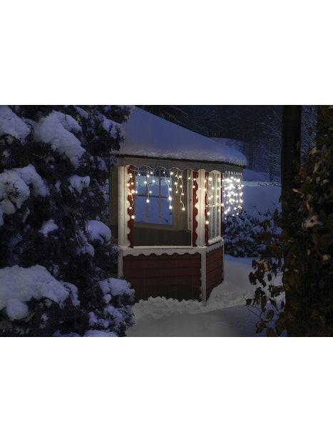 LED-SARJA AIRAM JÄÄPUIKKO 140 LEDIÄ LÄMMIN VALKOINEN 6,8M