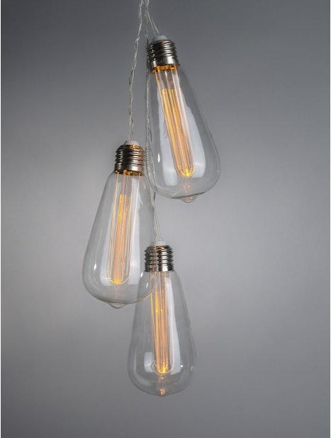 LAMPPUSARJA AIRAM EDISON 10 LEDIÄ 2,25M