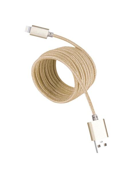 USB-LATAUSKAAPELI OPAL IOS MFI KULTA NYLON 3M