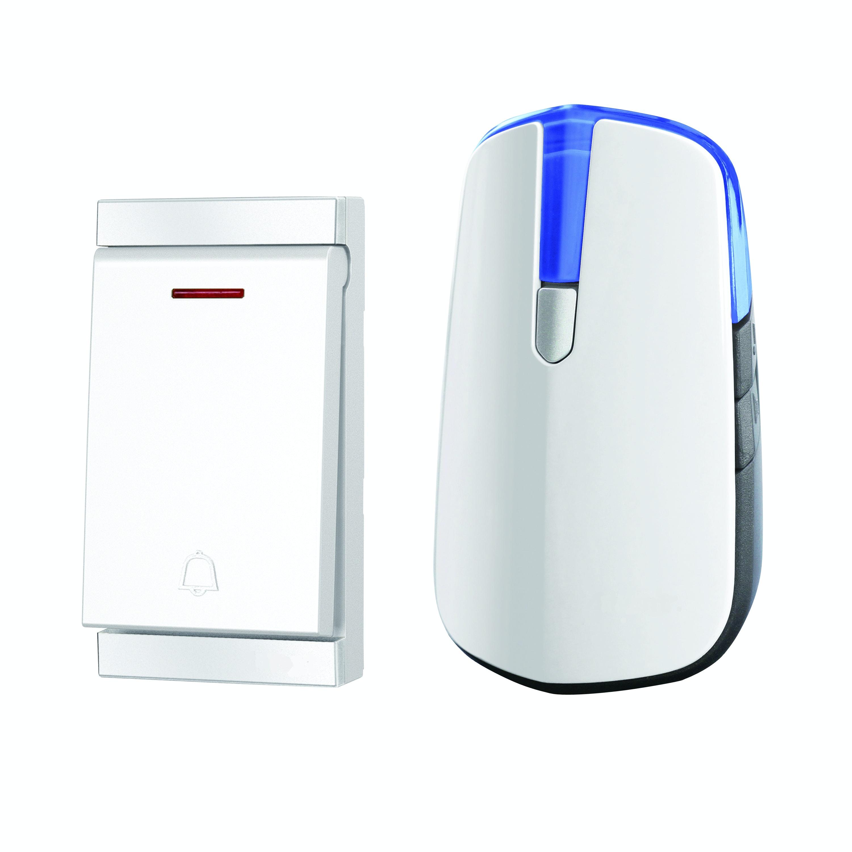 Dörrklocka Opal Trådlös Batterifri 150m