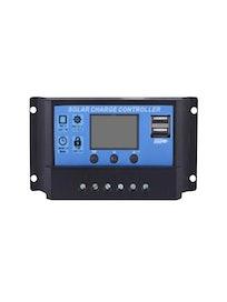 PV-LATAUSSÄÄDIN LCD PWM 12V/24V/10A