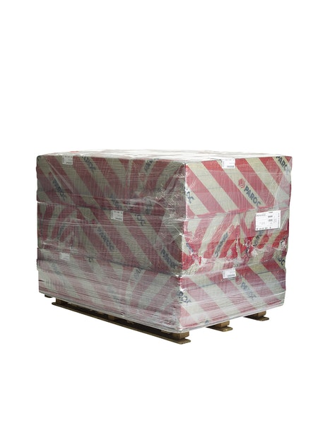 KIVIVILLALEVY PAROC HVAC SLAB ALUCOAT 30X600X1200MM