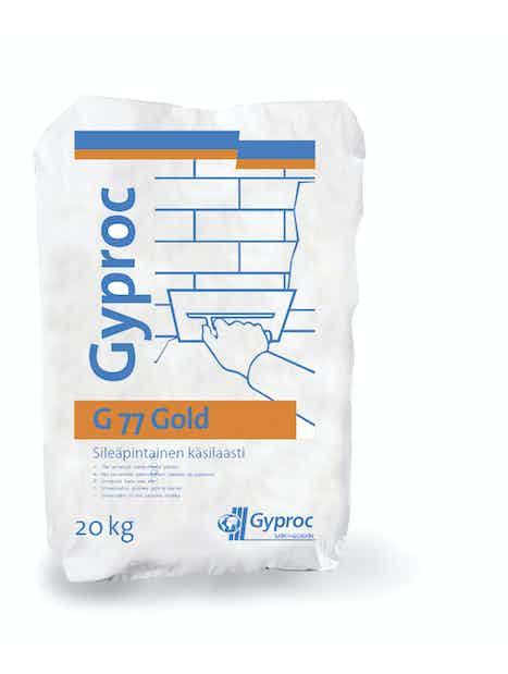 KIPSILAASTI GYPROC G 77 GOLD 20KG