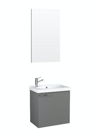 Möbelpaket Temal Trend 42X30 Grå Med Spegel