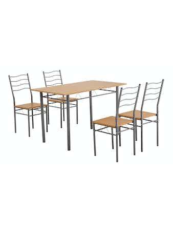 Набор мебели из 5 предметов Cello Ease, клен