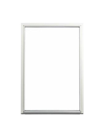 Fönster fast karm Outline HFK 9x16 vit härdat