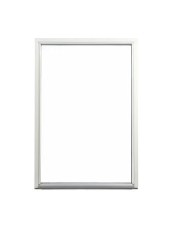 Fönster fast karm Outline HFK 9x21 vit härdat