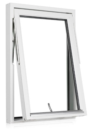 Vridfönster Outline HF 9x12 vitmålad