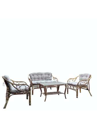 Набор мебели CELLO Санда, 4 предмета, натуральный ротанг