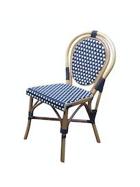 Кресло Cello Bistro, натуральный и искусственный ротанг, 60 x 85 x 46 см