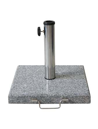 Parasollfot Cello Square Granit 30kg