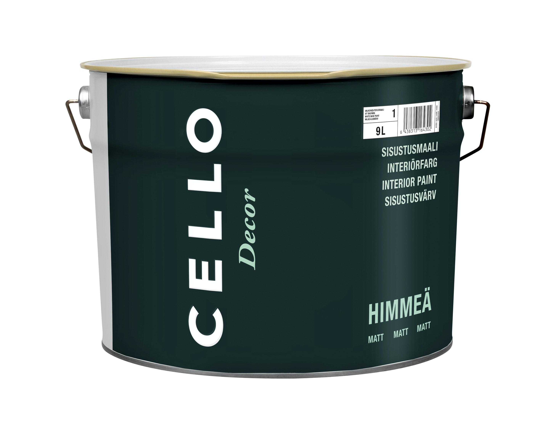 Interiörfärg Cello Decor Matt Vit/Bas 1 9l