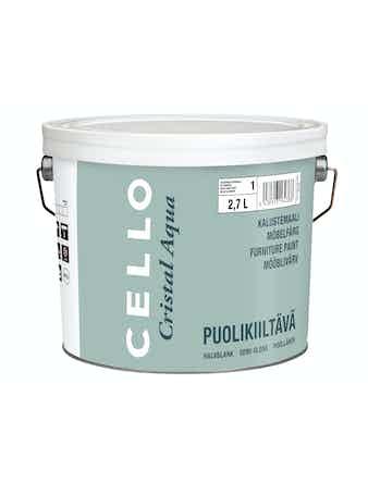 Möbelfärg Cello Cristal Aqua PM1 2,7L