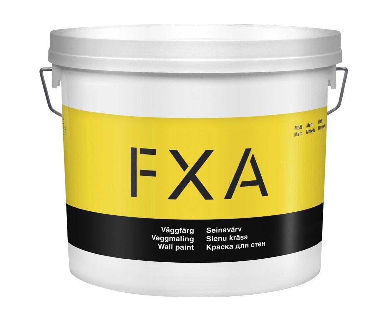 Väggfärg FXA 2,7L Matt