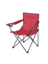 Кресло туристическое, 50 х 50 х 80 см, красное